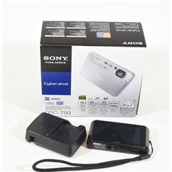 Sony Cybershot Digital Camera DSC-T99