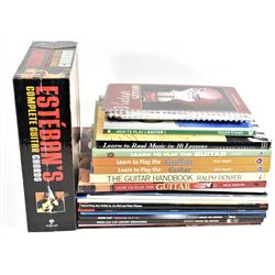 Various Guitar How-To Books & Music