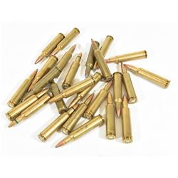 27 Rounds 224 Weatherby Mag Ammo