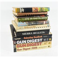 Box Lot Gun and Reloading Books