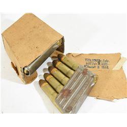 11.15x58R Werndl/Mannlicher Ammo & Stripper Clips