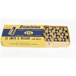 Dominion 32 S&W Ammo