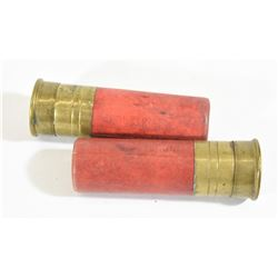 2 Rounds Winchester 8ga Slugs