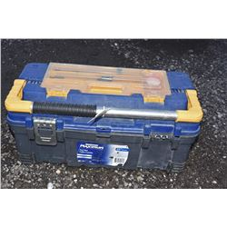 Plastic Tool Box Full of Tools