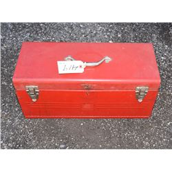 Two Tray Tool Box with Tools