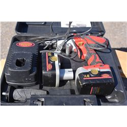 King Canada 14.4V Cordless Drill in Carry Case