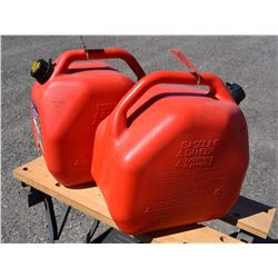 Two Scepter 20L Gas Cans