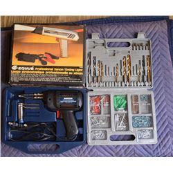 Timing Light, Solder Gun and Screw Kit