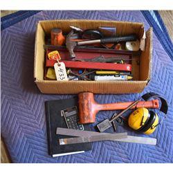 Box Lot Carpenter Tools