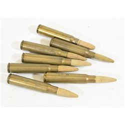 7 Rounds 7.92x57 (8mm Mauser) Wood Projectile Ammo