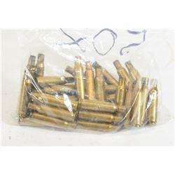 37 Pieces 222Rem Brass