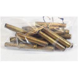 17 Pieces 375 Super Mag Brass