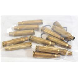 13 Pieces Norma 7.5x55 Brass