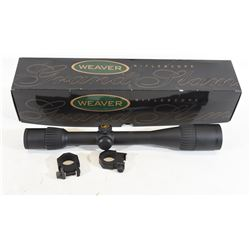 Weaver Grand Slam 6x20 Rifle Scope With Rings