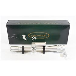 Weaver T-Series 36x F Class Scope With Rings
