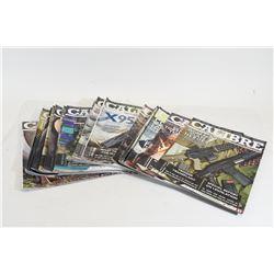 19 Issues of Calibre Magazine