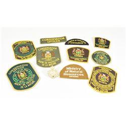 Lot Of Conservation Officer Badges