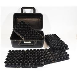 Four 12ga 50 Round Shell Trays in Plastic Case