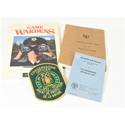 Ontario Game Warden and Conservation Officer Lot