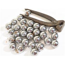Steel Balls and Vintage Case Trimmer