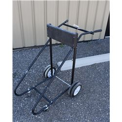 6 Wheel Outboard Motor Stand for Heavier Motors