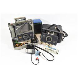 Vintage Polaroid Cameras and Equipment