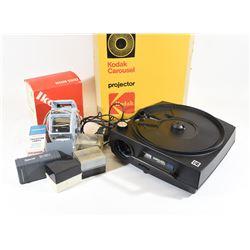 35mm Slide Projector & Viewing Equipment