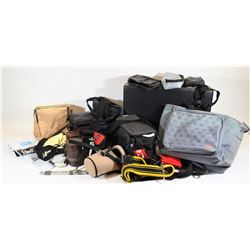 Camera Bags, Accessories Containers, Brief Case