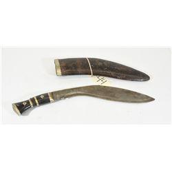 Kukri Gurkha Knife and Sheath