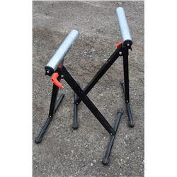 2 Adjustable Roller Stands