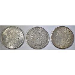 1921 & 2-21-S CIRC MORGAN DOLLARS