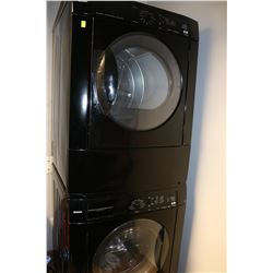 KENMORE SUPER CAPACITY STACKING WASHER AND DRYER