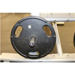 LOT OF 2 45LB WEIGHTS