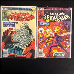 THE AMAZING SPIDER-MAN COMIC BOOK LOT #205/ #203 (MARVEL COMICS)