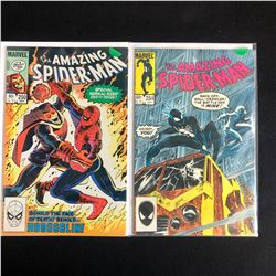 THE AMAZING SPIDER-MAN COMIC BOOK LOT #250/ #254 (MARVEL COMICS)