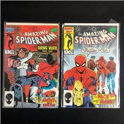 THE AMAZING SPIDER-MAN COMIC BOOK LOT #285/ #276 (MARVEL COMICS)