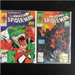 THE AMAZING SPIDER-MAN COMIC BOOK LOT #313/ #310 (MARVEL COMICS)