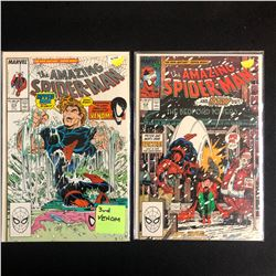 THE AMAZING SPIDER-MAN COMIC BOOK LOT #315/ #314 (MARVEL COMICS)