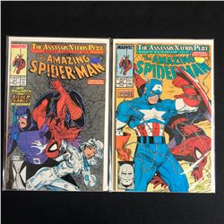 THE AMAZING SPIDER-MAN COMIC BOOK LOT #321/ #323 (MARVEL COMICS)