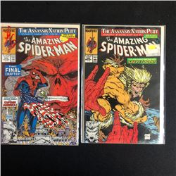 THE AMAZING SPIDER-MAN COMIC BOOK LOT #325/ #324 (MARVEL COMICS)