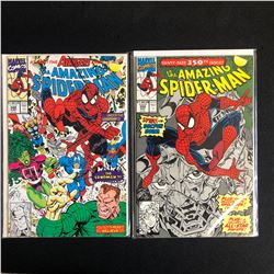THE AMAZING SPIDER-MAN COMIC BOOK LOT #348/ #350 (MARVEL COMICS)