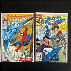 THE AMAZING SPIDER-MAN COMIC BOOK LOT #368/ #355 (MARVEL COMICS)