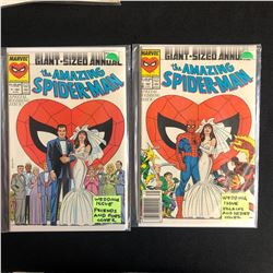 THE AMAZING SPIDER-MAN COMIC BOOK LOT #21/ #21 (MARVEL COMICS)