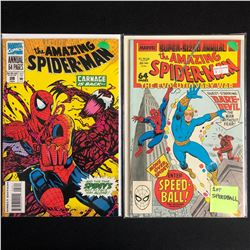 THE AMAZING SPIDER-MAN COMIC BOOK LOT #28/ #22 (MARVEL COMICS)