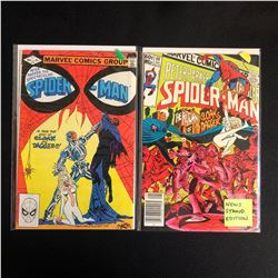 PETER PARKER THE SPECTACULAR SPIDER-MAN COMIC BOOK LOT #70/ #69 (MARVEL COMICS)