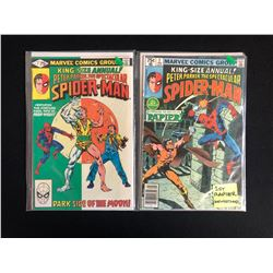PETER PARKER THE SPECTACULAR SPIDER-MAN COMIC BOOK LOT #3/ #2 (MARVEL COMICS)