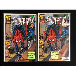SPIDER-GIRL #1/2 COMIC BOOK LOT (MARVEL COMICS)