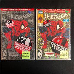 SPIDER-MAN #1 COMIC BOOK LOT (MARVEL COMICS)