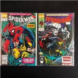 SPIDER-MAN COMIC BOOK LOT #12/ #10 (MARVEL COMICS)