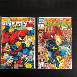 SPIDER-MAN COMIC BOOK LOT #23/ #18 (MARVEL COMICS)